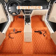 green car floor mats. Delighful Car Car Special Floor Glue Allinone Molding Leather Green Car  Handstitched Carpet Soundproof Mat In Floor Mats