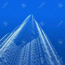 Architecture blueprints skyscraper Cell Phone Tower Architecture Blueprint Of Skyscraper On Blue Background Stock Photo 5621806 123rfcom Architecture Blueprint Of Skyscraper On Blue Background Stock Photo