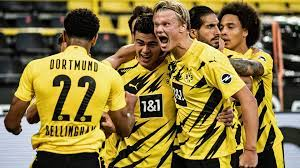 Dortmund, commonly known as borussia dortmund, bvb, or simply dortmund, is a german professional sports cl. Bundesliga Erling Haaland Borussia Dortmund Can Be Even Better Without Jadon Sancho