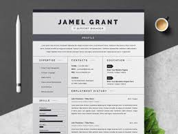 One Page Creative Resume Template By Resume Templates On Dribbble
