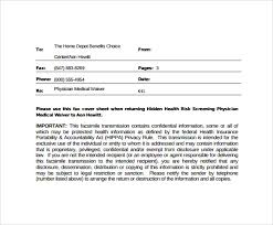 14 Downloadable Fax Cover Sheet Notice