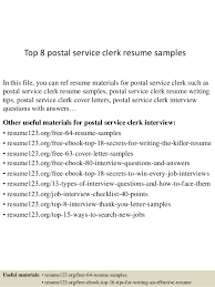 Brilliant Ideas Of Resume Postal Service Clerk Post Office Counter
