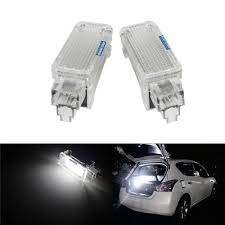 Audi A3 Door Lights Us 13 39 Angrong 2x Led Courtesy Luggage Trunk Boot Footwell Door Light For Audi A3 A4 S4 A5 A6 Q5 Q7 In Signal Lamp From Automobiles Motorcycles