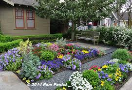 Small Picture Drive By Gardens No lawn flower garden at Houston Heights
