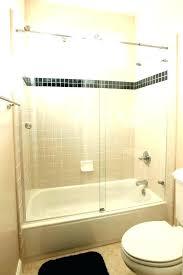 replace bathtub shower installing doors a bathroom design