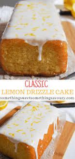 Easy Lemon Drizzle Cake Something Sweet Something Savoury