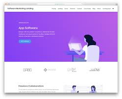 One Product Website Design 35 Free One Page Website Templates For Effective