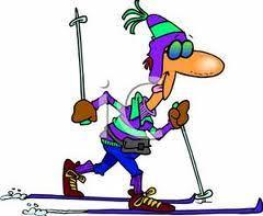 Bildresultat för tecknade bilder på skidor
