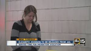 Elizabeth Johnson to be released from jail - YouTube