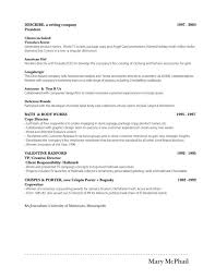 Porter Resume Beauteous Resumé