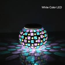 420 Best Garden Lights Images On Pinterest  Fairies Garden Solar Mosaic Garden Lights