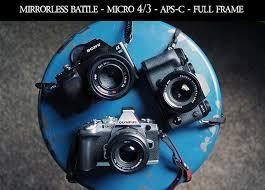 micro 4 3 vs aps c vs full frame