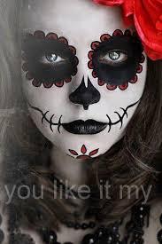 sugar skull makeup for s on dead