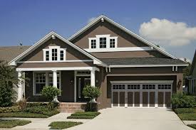 Painted Front Doors On Brick Homes Exterior Paint Colors For - Exterior paint house ideas