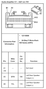 2011 chevy silverado stereo wiring diagram 2011 printable gm bose amp wiring diagram jodebal com source
