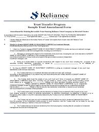 Trust Amendment Form 24 Trust Amendment Form Famous Frazierstatue 1