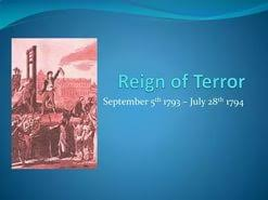 reign of terror essay questions  reign of terror essay questions