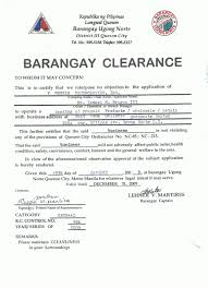 Barangay Certification Format Image Gallery Hcpr
