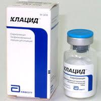 клацид при лечении простатита