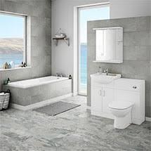 modern bathrooms. Unique Modern Cove 1150mm Vanity Unit Suite  Single Ended Bath Medium Image Inside Modern Bathrooms O