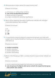 Multiple Questions Test Professional Assistance With Multiple Choice Questions
