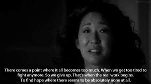 Pep Talk Quotes 100 'Grey's Anatomy' Quotes for When You Need a Pep Talk Her Campus 68