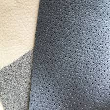 china lichee grain punching microfiber leather pu leather for car seat cover hs m314 china microfiber leather synthetic leather
