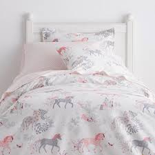 enchanted unicorn percale sheets bedding set the company with queen comforter design 7