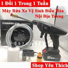 máy rửa xe , vệ sinh điều hòa chạy pin hàng nội địa trung BSA , MADIKA