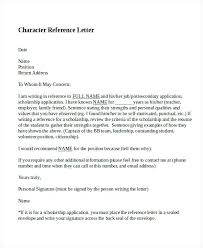 Personal Reference Letter Template Contemporary