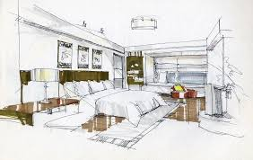 interior design hand drawings. Interior Design Bedroom X Px Photo With Decoration Hand Drawings