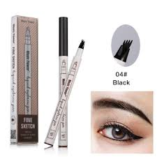 Amazoncom Tattoo Eyebrow Pen With Four Tips Long Lasting