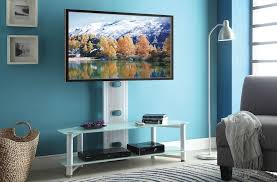 tv stand with mount white. taijo white glass tv stand with flat panel mount tv