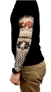 Tetovací Rukáv Ac Dc Cool Mania