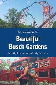 beautiful busch gardens williamsburg va