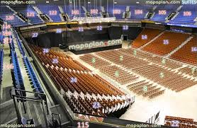 Mohegan Sun Arena View From Section 115 Row C Seat 7