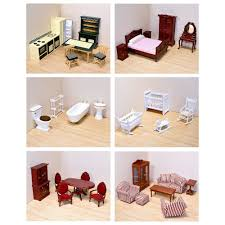 modern doll furniture. variety of dollhouse furniture modern doll
