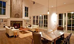 contemporary fireplace wall ideas wood accent modern stone walls design