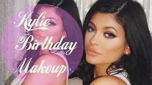 kylie jenner birthday glam makeup tutorial