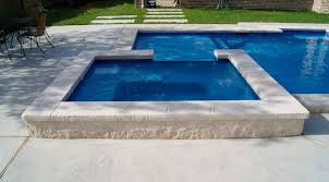 Contemporary Pool Designs With Spa And L Intended Design