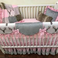 baby girl deer crib bedding kylie