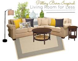 living room looks for less. 4.17 pottery barn living room for less moodboard looks
