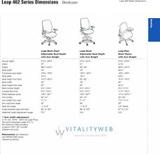 desk chair dimensions leap plus standard office height cm
