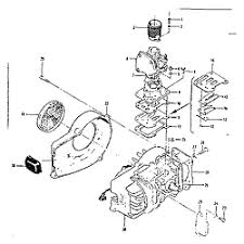 mcculloch mcculloch gasoline kart engine parts model mc8 sears engine assemb