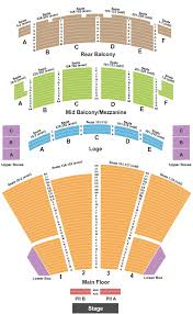 Palace Theatre Seating Chart Columbus