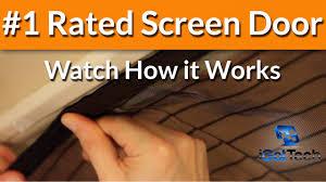 magnetic screen door magic mesh screen doors retractable door instant bug mesh you