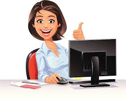 Image result for cartoon images office staff