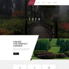 Small Picture Garden Design Templates TemplateMonster