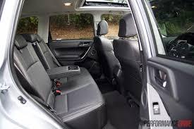 2016 subaru forester xt rear seats