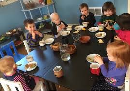 preschool lunch table. As I\u0027ve Written Before, Gathering At The Table To Eat Is A Very Special Time For Cohort 9, And I Know It Has 7 Well. Preschool Lunch